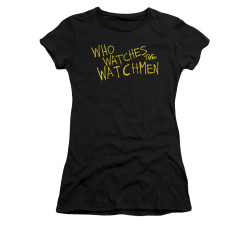 Image for The Watchmen Girls T-Shirt - Who Watches?