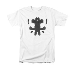 Image for The Watchmen T-Shirt - Rorshcach Face