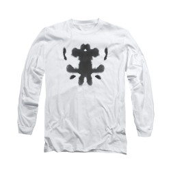 Image for The Watchmen Long Sleeve Shirt - Rorshcach Face