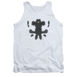 Image for The Watchmen Tank Top - Rorshcach Face