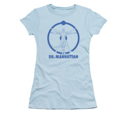 Image for The Watchmen Girls T-Shirt - Dr Manhattan