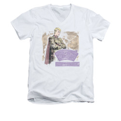 Image for The Watchmen V Neck T-Shirt - Ozymandias