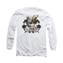 Image for The Watchmen Long Sleeve Shirt - Rorscach