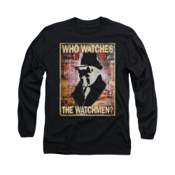 Image for The Watchmen Long Sleeve Shirt - Who Watches
