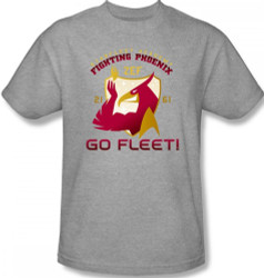 Image for Star Trek T-Shirt - Starfleet Academy Fighting Phoenix
