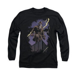 Image for The Watchmen Long Sleeve Shirt - Rorschach Night