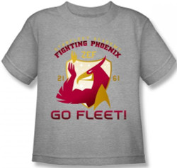 Image for Star Trek Kids T-Shirt - Starfleet Academy Fighting Phoenix