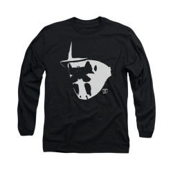 Image for The Watchmen Long Sleeve Shirt - Mask And Symbol