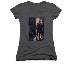 Image for The Watchmen Girls V Neck - Light