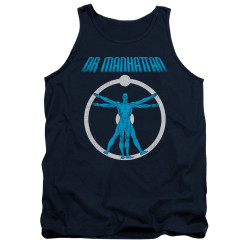 Image for The Watchmen Tank Top - Anatomy