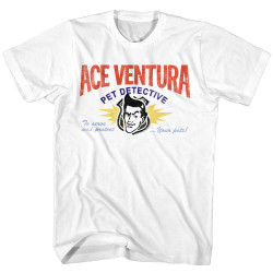 Image for Ace Ventura Pet Detective T-Shirt - Business Card
