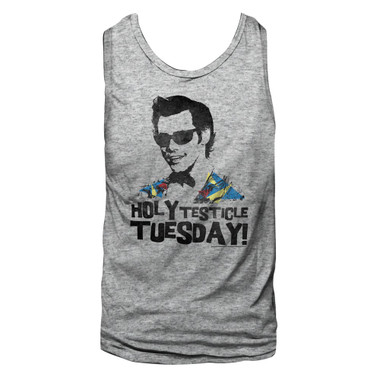Image for Ace Ventura Pet Detective T-Shirt - Holy Testicle Tuesday Tank