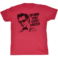 Image for Ace Ventura Pet Detective T-Shirt - Spank You
