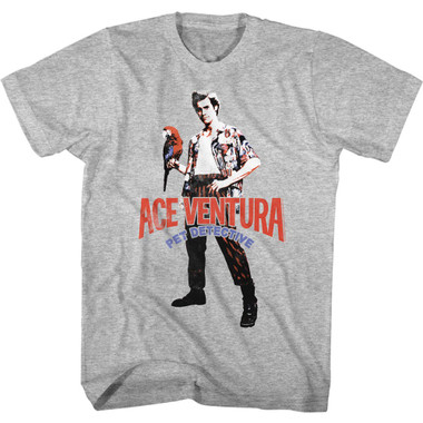 Image for Ace Ventura Pet Detective T-Shirt - All American Ace