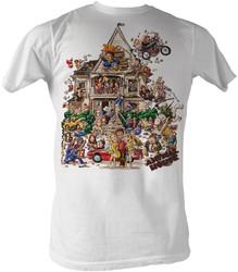 Image Closeup for Animal House T-Shirt - House