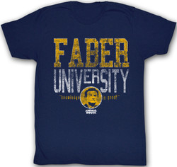 Image Closeup for Animal House T-Shirt - Faber University
