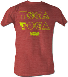 Image Closeup for Animal House T-Shirt - Toga X2