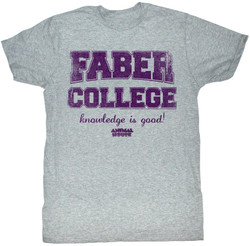Image Closeup for Animal House T-Shirt - Faber College Knowledge is Good