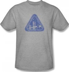 Image for Star Trek T-Shirt - Starfleet Academy Distressed Logo