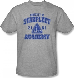 Image Closeup for Star Trek T-Shirt - Starfleet Academy Old School