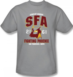 Image for Star Trek T-Shirt - Starfleet Academy SFA Fighting Phoenix