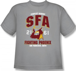 Image for Star Trek Toddler T-Shirt - Starfleet Academy SFA Fighting Phoenix