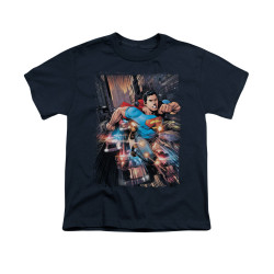 Image for Superman Youth T-Shirt - Action Comics #1