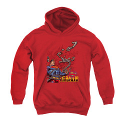 Image for Superman Youth Hoodie - Breaking Chains