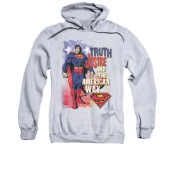Image for Superman Hoodie - Truth Justice