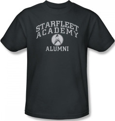 Image Closeup for Star Trek T-Shirt - Starfleet Academy Alumni