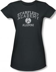 Image for Star Trek Girls T-Shirt - Starfleet Academy Alumni
