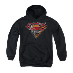 Image for Superman Youth Hoodie - Breaking Chain Logo