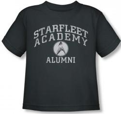 Image for Star Trek Toddler T-Shirt - Starfleet Academy Alumni