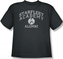 Image for Star Trek Youth T-Shirt - Starfleet Academy Alumni