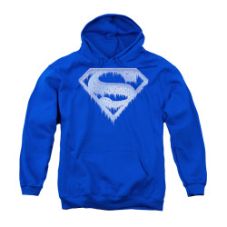 Image for Superman Youth Hoodie - Ice And Snow Shield