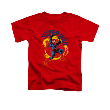 Image for Superman Toddler T-Shirt - A Name To Uphold