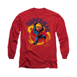 Image for Superman Long Sleeve Shirt - A Name To Uphold