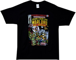 Image Closeup for John Carter of Mars Marvel #1 T-Shirt