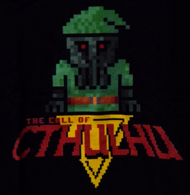 Image for 8 Bit Cthulhu T-Shirt
