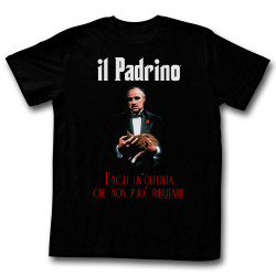 Image for Godfather T-Shirt - il Padrino Poster