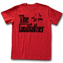 Image for Godfather T-Shirt - Logo Black