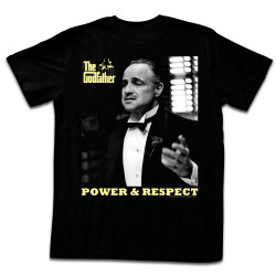 Image for Godfather T-Shirt - Power and Respect