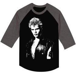 Image for Billy Idol 3/4 Sleeve T-Shirt - Vest Raglan