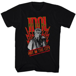 Image for Billy Idol T-Shirt - Hot in the City
