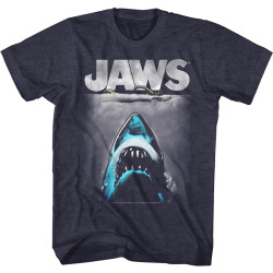 Image for Jaws T-Shirt - Lichtenstien Shark