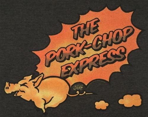 e35c471b97eb9 Big Trouble in Little China Pork Chop Express T-Shirt - NerdKungFu