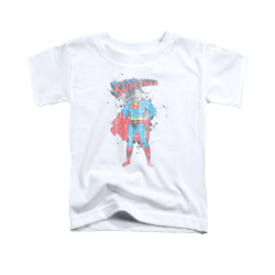 Image for Superman Toddler T-Shirt - Vintage Ink Splatter