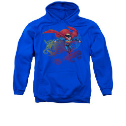Image for Superman Hoodie - Cool Word Supes