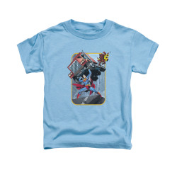 Image for Superman Toddler T-Shirt - Pick Up My Truck