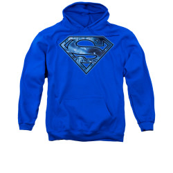 Image for Superman Hoodie - On Ice Shield